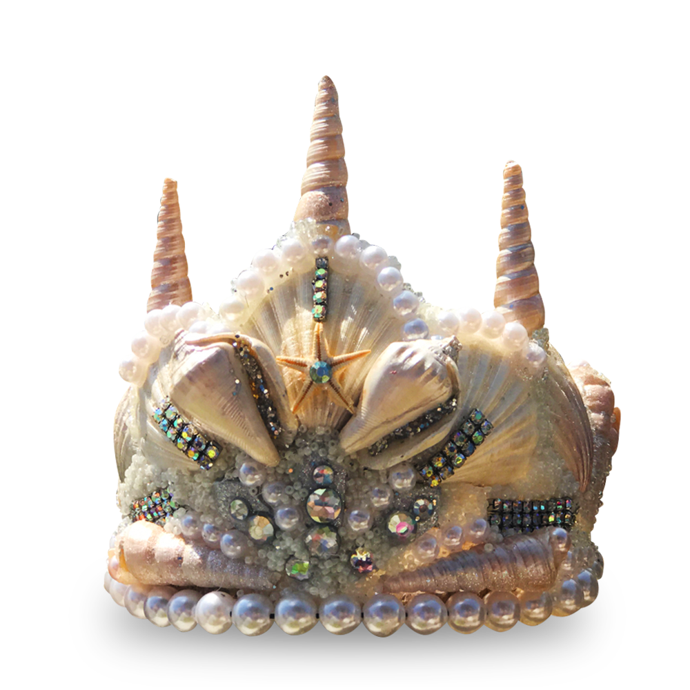 Star Princess Seashell Crown